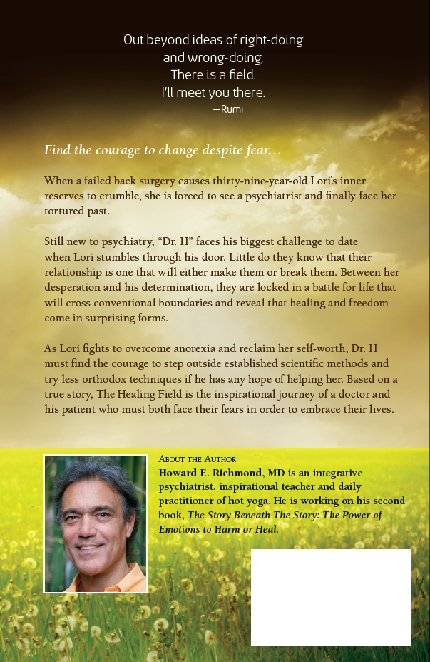 The Healing Field Back Cover
