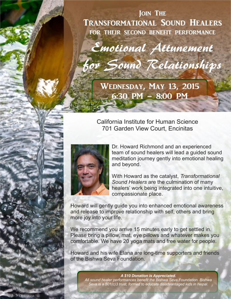 Emotional Attunement Flyer May 13