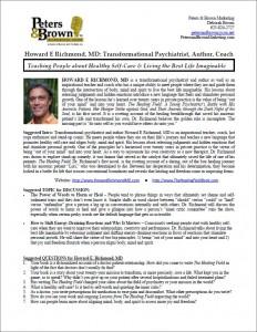 Author One-Sheet
