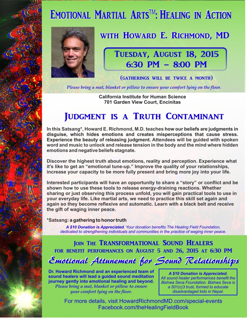 Combined flyer August 18 EMA and August 5 and 26 Sound Healing