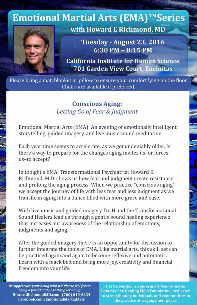 Conscious Aging - half sheet