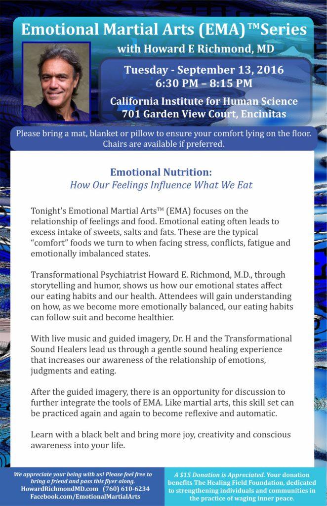 Emotional Nutrition - half sheet