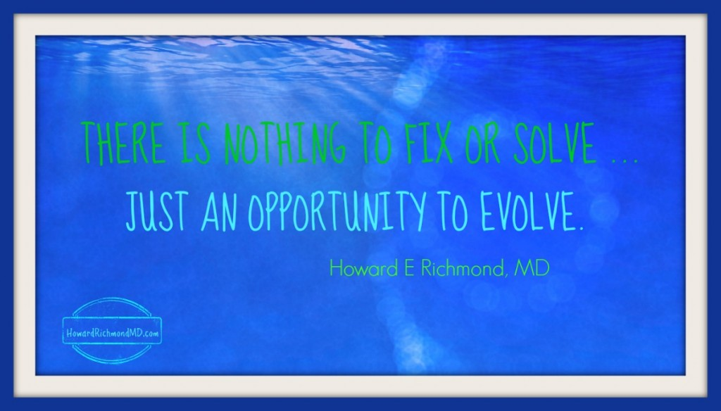 Opportunity to Evolve