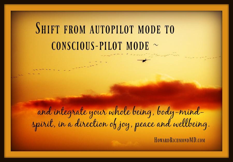 Auto-Pilot to Conscious Pilot
