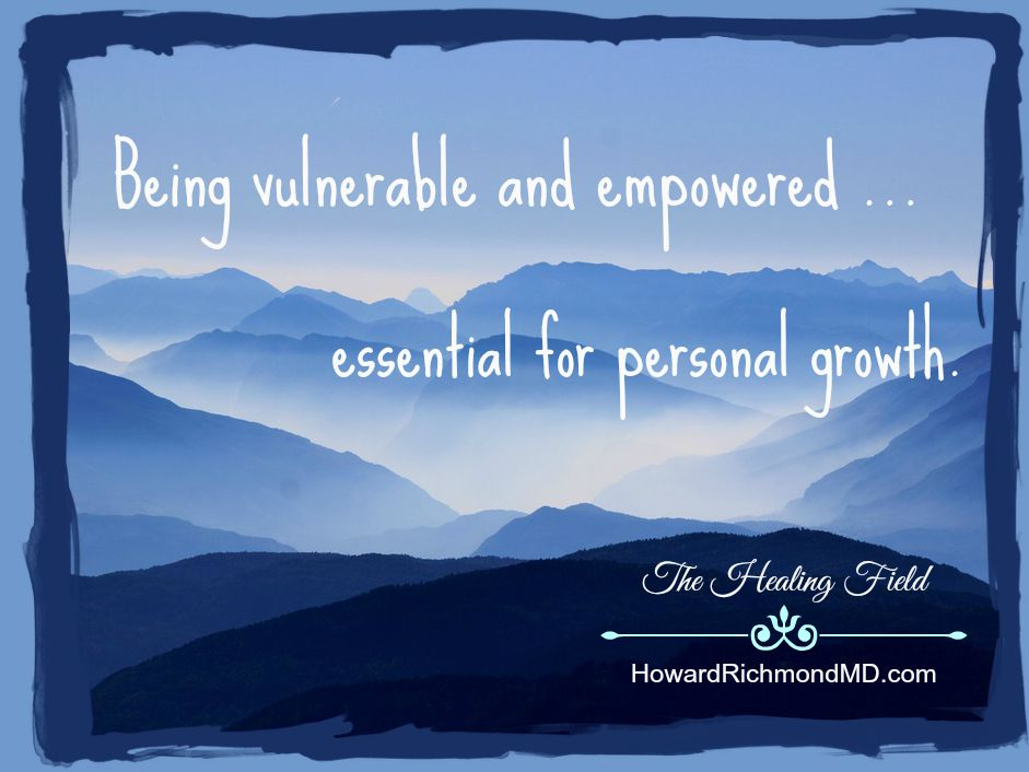 Being Vulnerable and Empowered