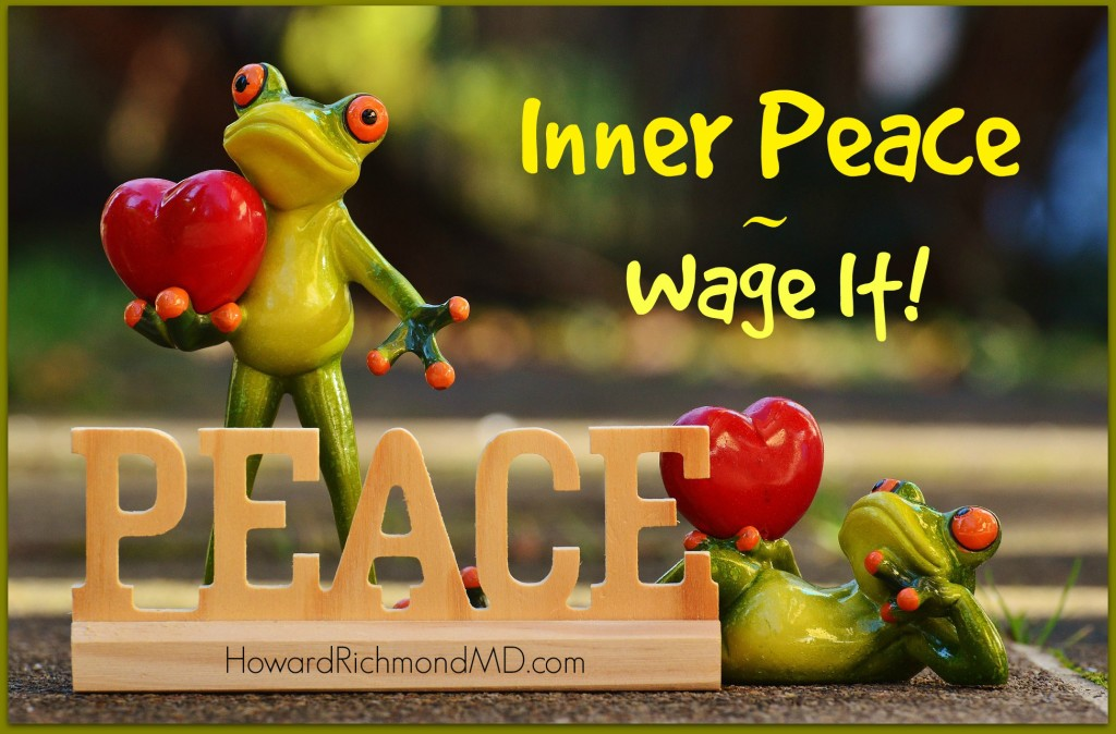 Frogs and Hearts - Inner Peace